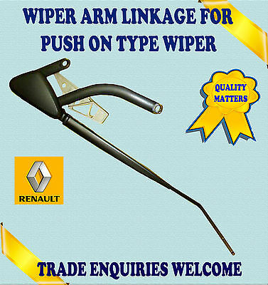 For Renault Scenic Mk2 12/04>> Driver Side Osf Wiper Arm Linkage Push Type Wiper