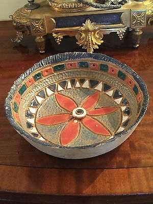 Antique Islamic Ceramic Hand painted Bowl.