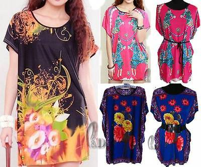 Wholesale Bulk Lot Of 10 Mixed Style Tunic Kaftan Top/beach Cover Au Seller T020