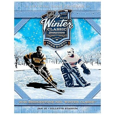 NHL 2016 Winter Classic Boston Bruins vs Montreal Canadiens Official Programme