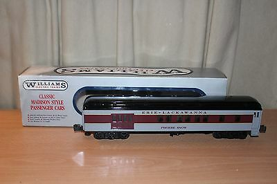 Williams Electric Trains Erie-Lackawanna Passenger Car, FREE SHIPPING