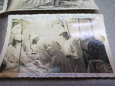 Vintage Wwii  Japanese War Photos Snapshots Military ,graves,surgery