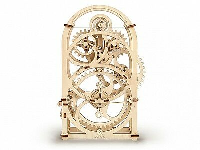 UGears * TIMER * Self-propelled mechanical wooden model KIT 3D puzzle