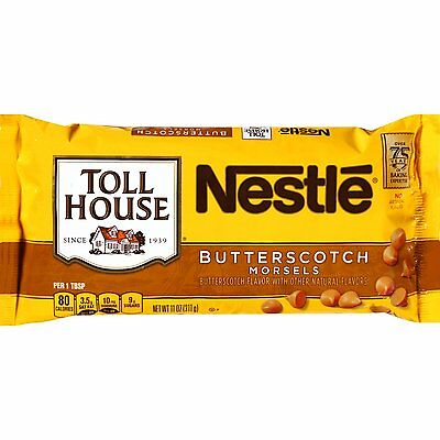 Nestle Toll House Butterscotch Morsels Baking Chips ~ 11 oz.