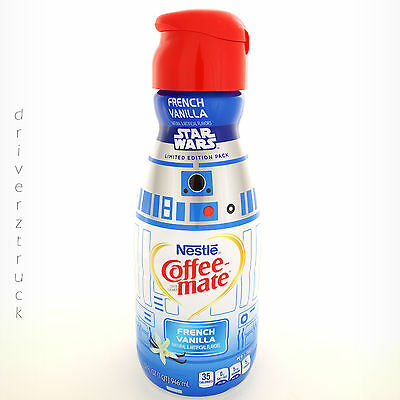COFFEE MATE Collectible STAR WARS Limited Edition Pack R2-D2 Empty Bottle NESTLE