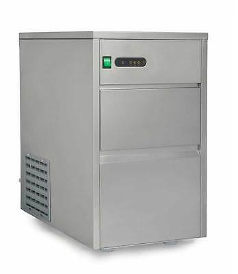 Sunpentown SPT 66 lbs Automatic Stainless Steel Ice Maker - IM-660C