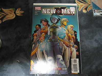 Issue 1 of the 2004 New X-men comic book series