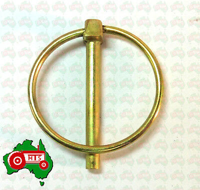 "4.5 mm 3/16"" Lynch Linch Pin Locking Tractor Implement Trailer Caravan Camper RV"