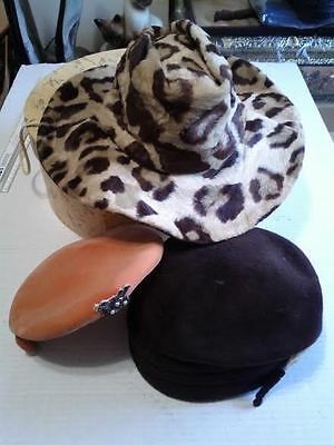Vintage Mr. Frank Original Belmar Hats 3 Pc