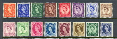 GB 292 to 302, 304 to 308 mlh/mh short set - Tudor Crown & E2R multi watermark