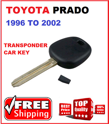 4C Transponder Car key Toyota Prado Car Key 1996 1997 1998 1999 2000 2001 2002