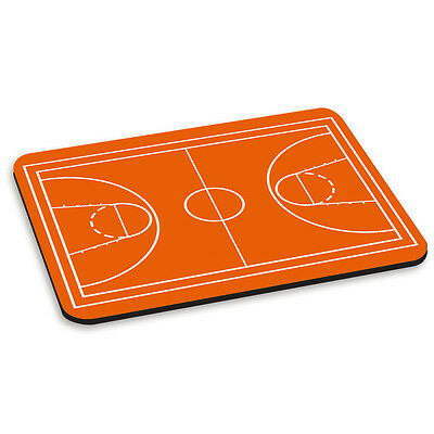 BASKETBALL COURT PC Computer Mouse Mat Pad Sport Funny