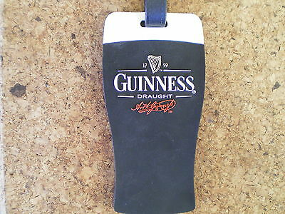 Guinness Luggage Tag Brand New.