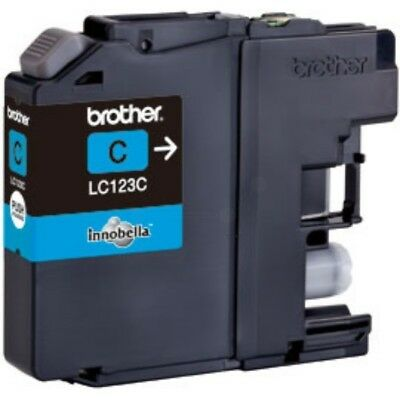 LC123C Genuine Brother Cyan Ink Cartridge