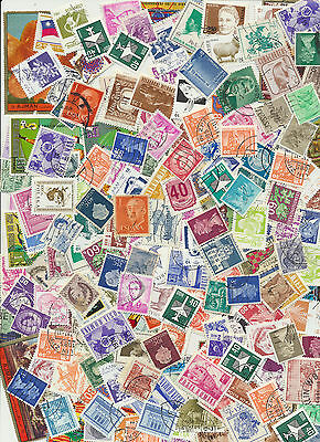 Over 150 Mixed Real Worldwide Postage Stamps for Crafts. Art Projects, Decoupage