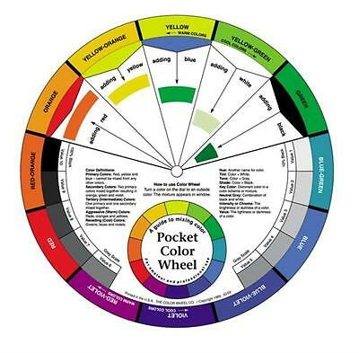 Artist Pocket Colour Wheel (colour mixing guide)
