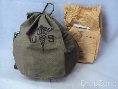 Vietnam War US Army Medical Patient's Effects Hospital Bag, New old Stock