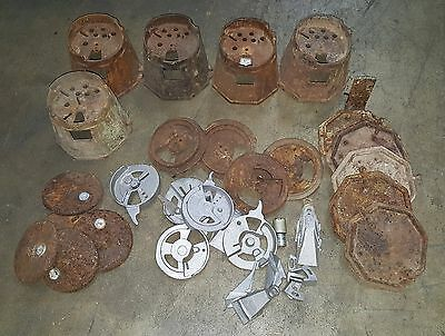 Mystery Columbus Misc. Assorted Parts Gumball/Peanut Vending Machine, Coin op