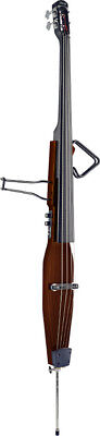 Elettrico Double Bass, marrone scuro, EDB-3/4 DBR