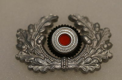 WW2 German EM NCO Visor Cap Wreath With Cockade