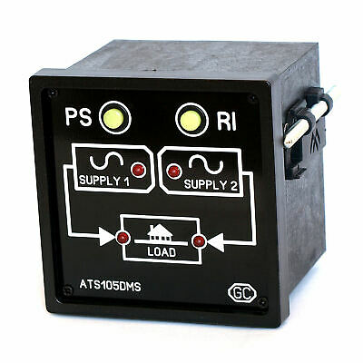 Automatic Transfer Switch module change-over between 2 similar AC power supplies
