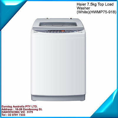 Eurotag 6Kg Top Loading Washing Machine Whit Air  Dry  Brand New