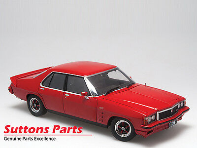 New Authentic Holden Hz Gts Sedan Flamenco Red Diecast Model 1: 18 Part A73342