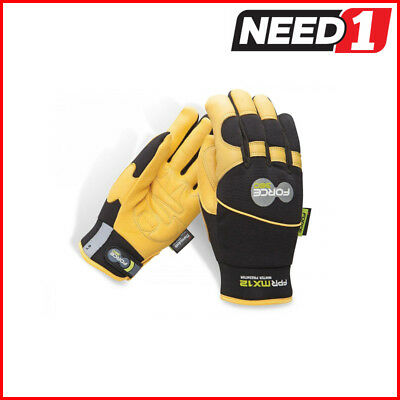 Force360 MX12 Predator Deerskin Winter Mechanics Safety Glove