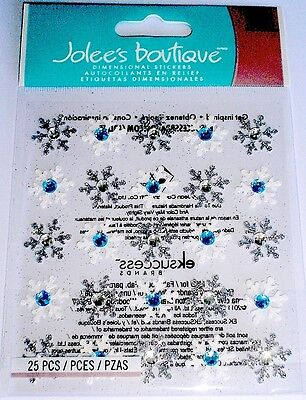 Jolee's Boutique Dimensional Stickers ~Snowflake
