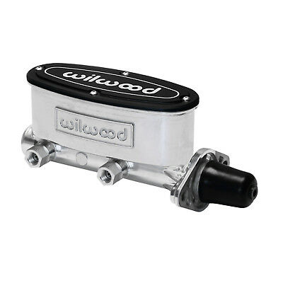 Wilwood 260-8555-P Master Cylinder Alloy Natural Ball Burnished 1 in. Bore Unive
