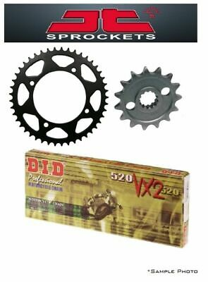 Ducati 696 Monster 2008-2014 JT & DID 520VX2 15/45 X-ring Chain and Sprocket Kit