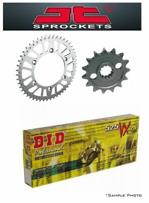 BMW F800 GS 13-14 JT and DID 525VX 17/42 X-ring Chain and Sprocket Kit