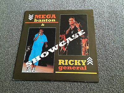 Mega Banton & Ricky General - Showcase - 1993 Lp - More Dancehall In My Shop!!