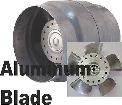 In Line High Temperature Duct Extractor Fan VOK 135/120