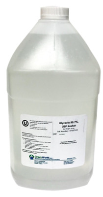 ChemWorld Vegetable Glycerin USP Kosher - 1, 5, & 55 Gallons