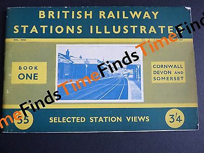 1947 British Railway Stations Illustrated Cornwall Devon And Somerset