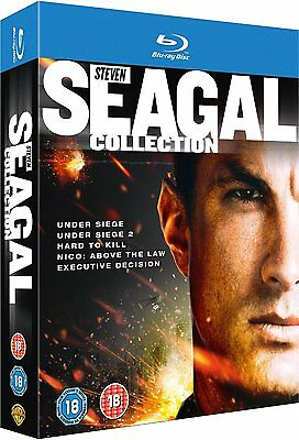 STEVEN SEAGAL COLLECTION [Blu-ray 5-Movie Box Set] Under Siege 1 2 Hard to Kill