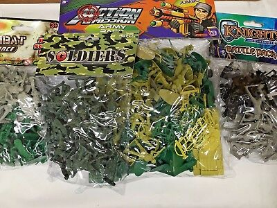 COMBAT FORCE Jumbo Soldier Army Battle Pack Plastic Play Sets Kids Children Toys