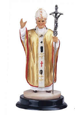 5 Inch Pope John Paul II Holy Collectible Statue Figurine Saint Religious