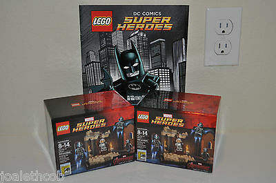 2X Lego Sdcc Comic Con 2015 Throne Of Ultron Marvel Avengers #1097 & #1475 New