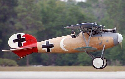 WWI  Albatros  58 inch Wing Span  Giant RC Model AIrplane Printed Plans