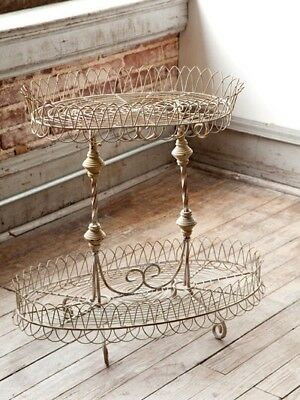 French Wire and Iron Plant Stand