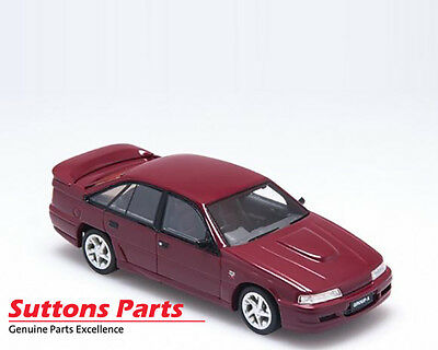 New Authentic Holden Vn Commodore Ss Group A Durif Red Model 1:43 Part Br43603A