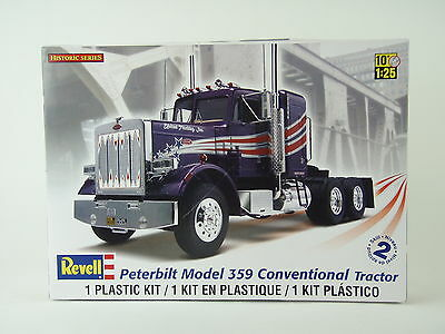 Revell Peterbilt 359 Conventional Tractor 1/25 Plastic Model Truck Kit - NEW