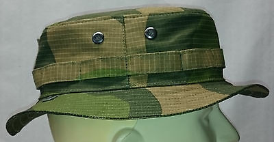 RECCE Hat  Boonie     Norway / Norwegian Army  green camo   - Made in Germany -