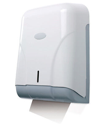 Toallero ZZ Dispensador Pared ABS Blanco. Capacidad 600 servicios.