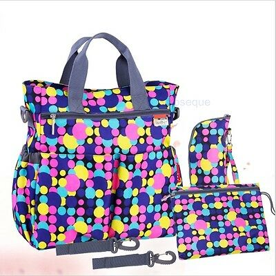 Set Bags Maternity Mother Nappy Stroller Diaper Multifunctional Mummy Shoulder