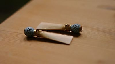2 German High Quality Baroque Bassoon Reeds