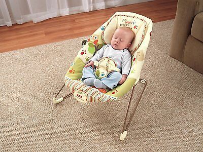 Fisher-Price - Woodsy Friends - Comfy Time Bouncer