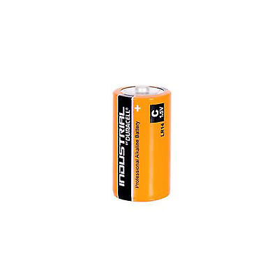 5 Duracell Procell C Size Alkaline Battery 1.5V MN1400 LR14 BABY MEZA TORCIA